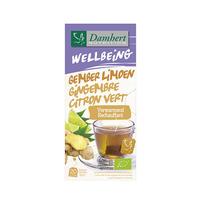 Damhert Wellbeing Tea Gember Limoen Gingembre Citron Vert 40GR