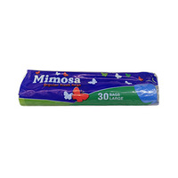Mimosa Trash Bags Blue Large 30 Bags
