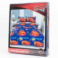 Cars Bed Sheet 2pc Set