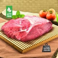 لحم بقري طازج بدون عظم محلي (للكيلو)