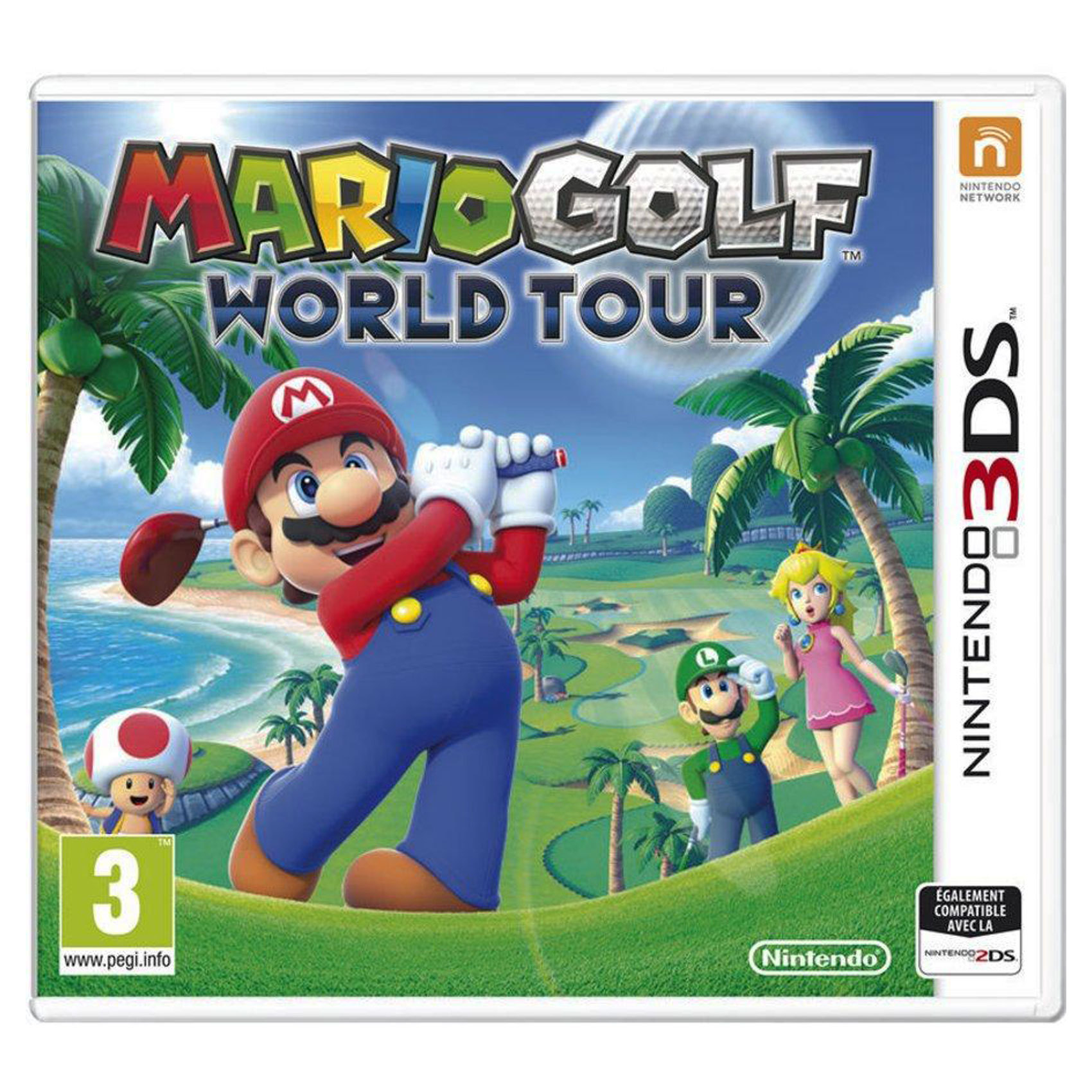 NINTENDO 3DS MARIO GOLF WORLD TOUR