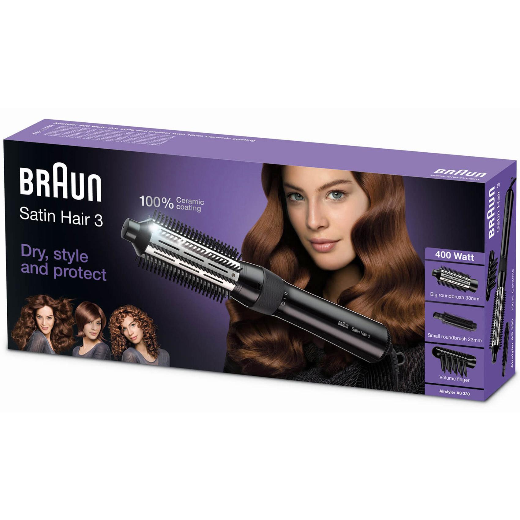 BRAUN HAIR STYLER AS 330