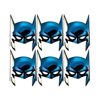 Marvel Batman Mask 6 Pieces