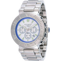 Mount Royale Men's Watch White & Blue Dial Stainless Steel Sport-7R29