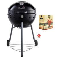 Charbroil 55cm BBQ Kettle+ Charcoal Briquettes 5kg