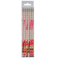 Minnie Style Icon Wooden Pencil 12Pcs