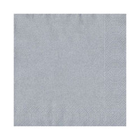 Duni Table Napkins Silver 33CM