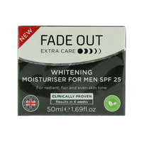 Fade Out Extra Care Whitening Moisturiser For Men Spf25 50ml