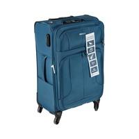 ترافل هاوس حقيبة سفر خامة ناعمة 4 عجلات مقاس 24 انش لون أخضر