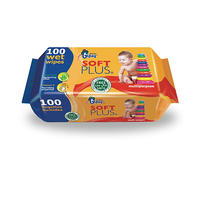 Gipy Wipes Multi Purpose 100 Sheets