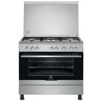 Electrolux 90X60 Cm Gas Cooker EKG-912 AIOX 5Burners