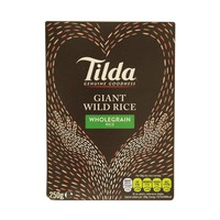 Tilda Giant Wild Rice Wholegrain Rice 250g