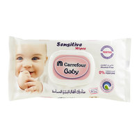 Carrefour Baby Sensitive Wipes 24 Wipes