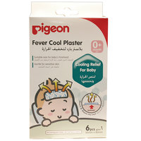 Pigeon Fever Cool Plaster For Baby's Forehead 6pcs