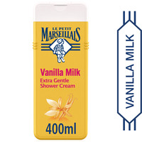 Le Petit Marseillais Shower Cream Vanilla Milk Extra Gentle 400ml
