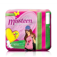 Private Ladies Pads Extra Thin Miss Teen 10 Napkins