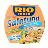 Rio Mare Salatuna Vegetables & Tuna Salad Maize Recipe 160 g