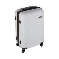 Blue Bird Abs Hard Luggage 4 Wheels Size 24 Inch  White