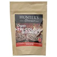 Hunter's Gourmet Organic Tri-Colour Quinoa 300g