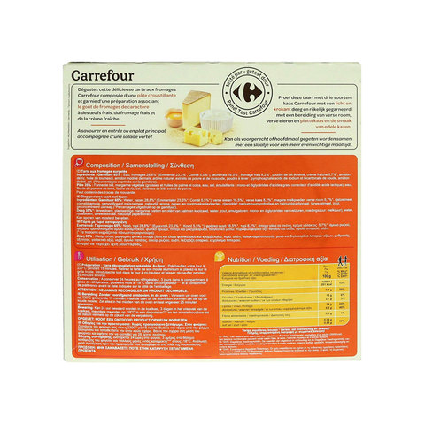 Carrefour-Tart-3-Cheese-400g