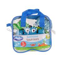 Playgro Bathtime Squirtees 8pack- Boy Version