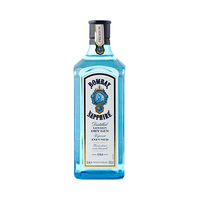 Bombay Sapphire London Dry Gin 75CL  + Cop Strawberry & Brush