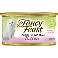 Purina Fancy Feast Kitten Tender Turkey Wet Cat Food 85 g