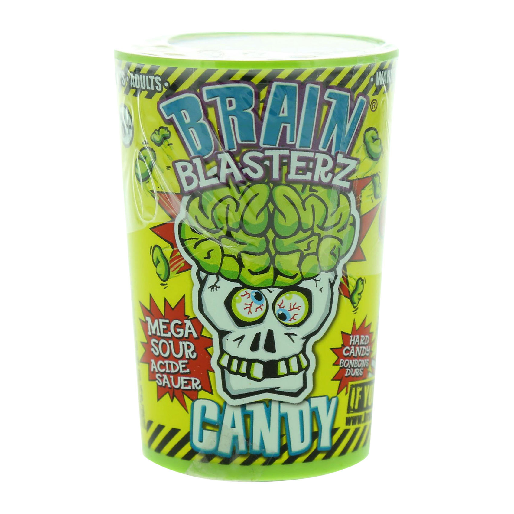 BRAINBLASTERS CANDY CONTAINER 48G