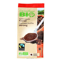 Carrefour Bio Organic Strong Arabica  Ground Coffee 250g