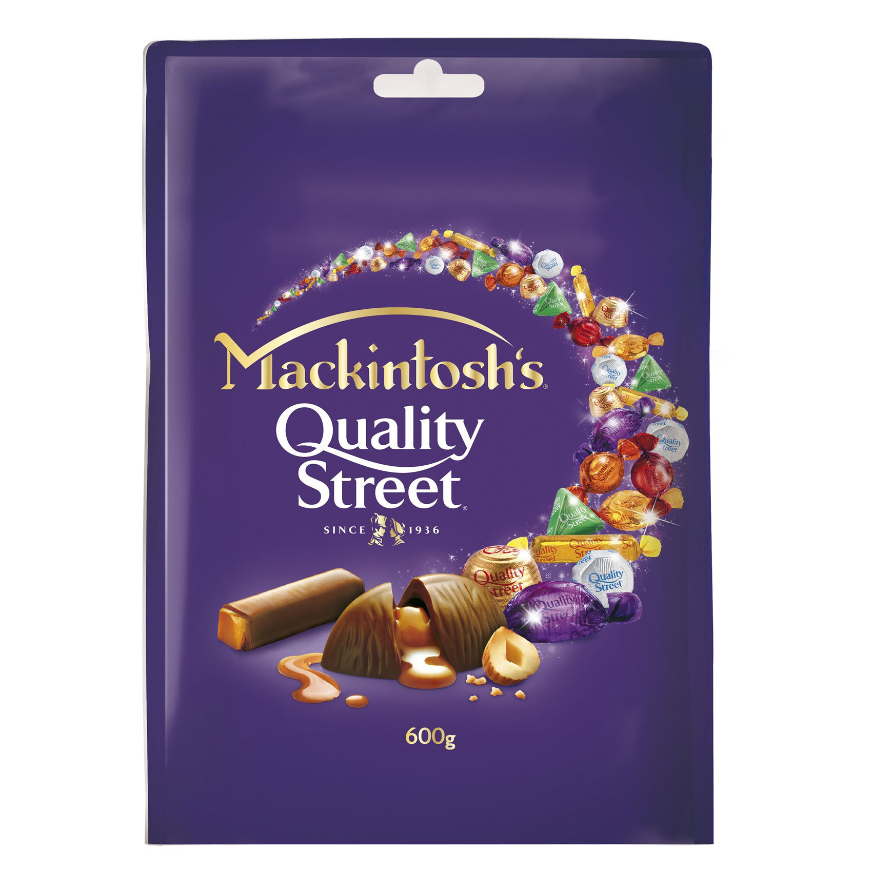 NESTLE QUALITY STREET 600G POUCH