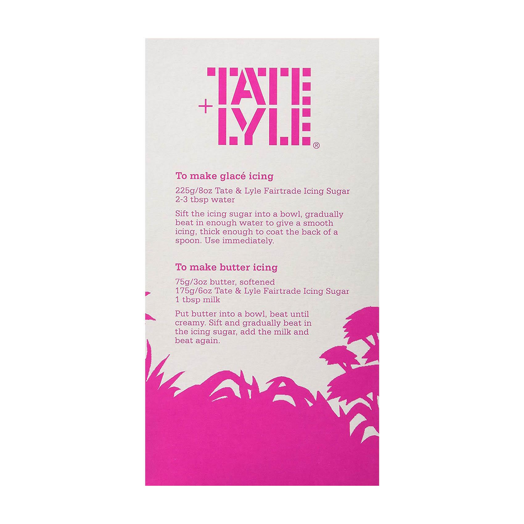 TATE&LYLE ICING SUGAR 500GR