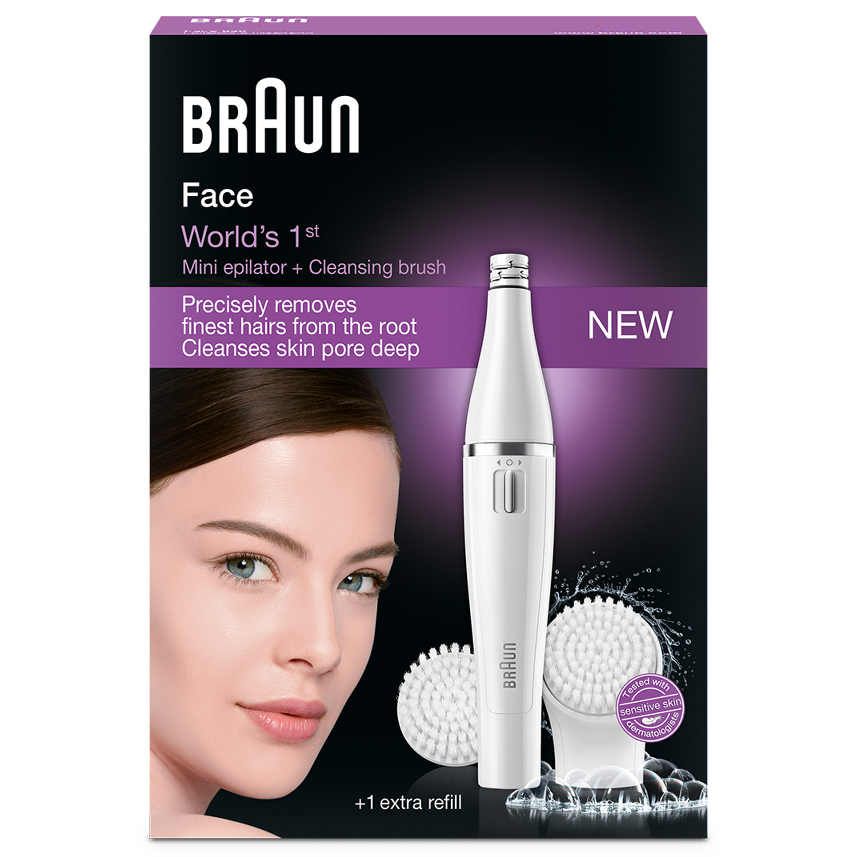 BRAUN FACE BEAUTY SE820