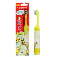 Colgate Battery Powered Kids Soft Toothbrush Minions 1 Pack