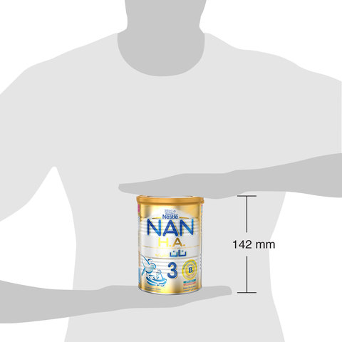 Nestlé-Nan-HA-Stage-3-(1-3-Years-Old)-Hypoallergenic-Growing-Up-Milk-For-Toddlers-Powder-Tin-400g