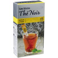 Carrefour Lemon Black Tea Sticks 1.9gx15