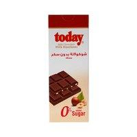تودي شوكولاتة بالحليب مع البندق خالي من السكر 65 غرام