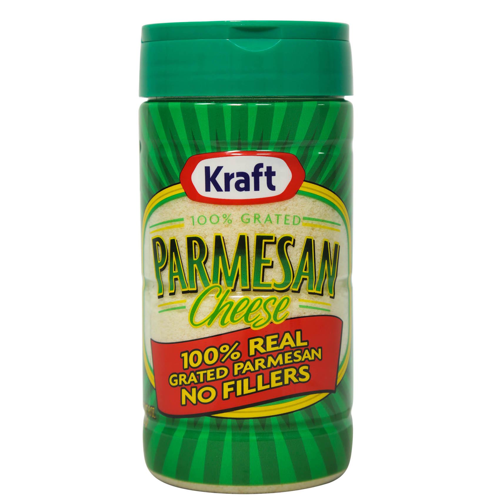 KRAFT GRATED PARMESAN 227G