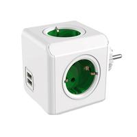 Cosmocube 4 Way USB Power Socket 16A 250V 2USB