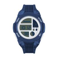 Reebok Unisex's Watch Workout All Terrain Digital Black Dial Blue Silicon Band 44mm  Case