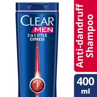 Clear Men's Anti-Dandruff Shampoo Style Express 2in1 400ml