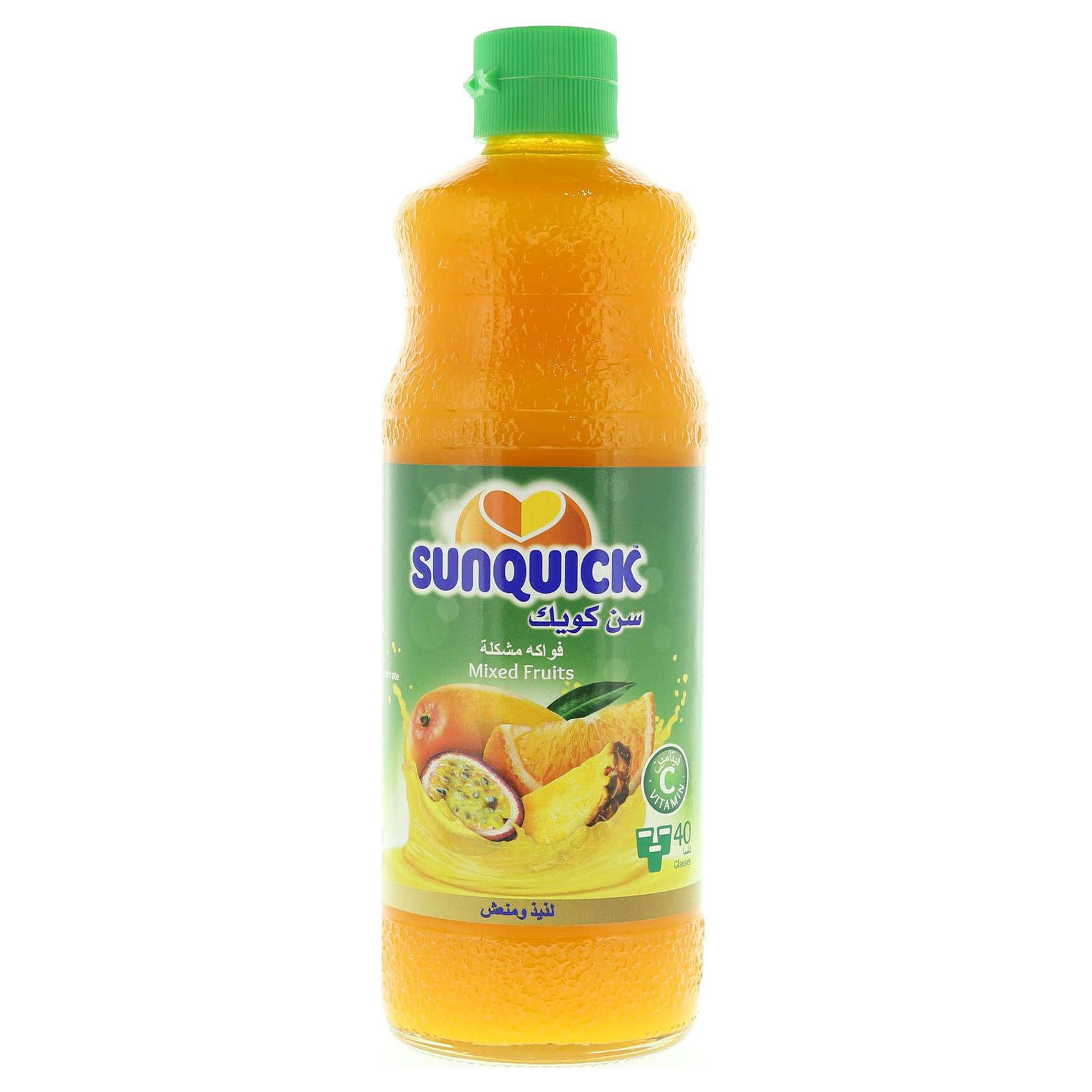 SUNQUICK COCKTAIL 840ML