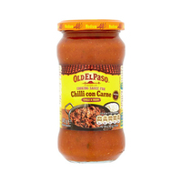 Old El Paso Cooking Sauce Chilli Con Carne