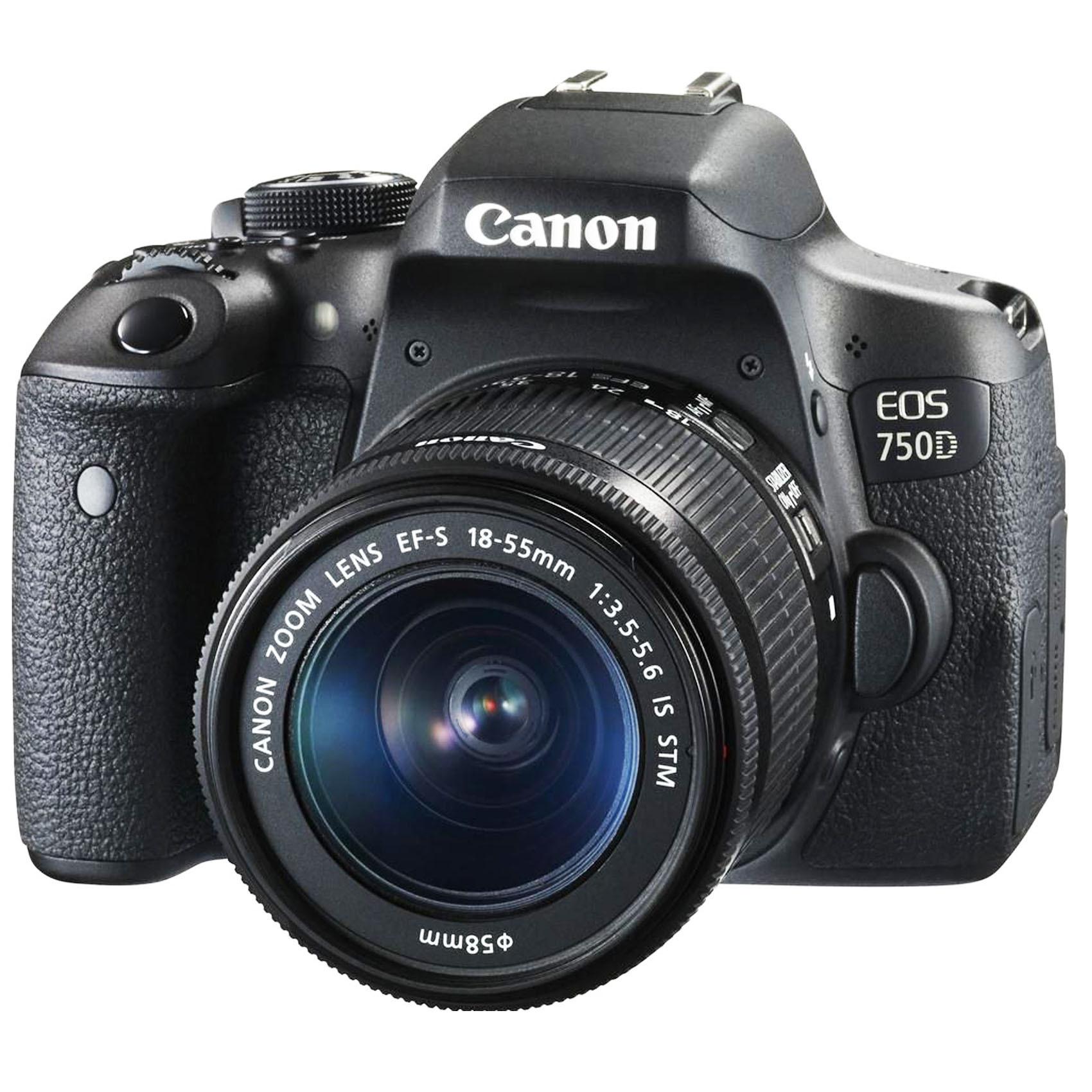 CANON SLR EOS750D 18-55I STM