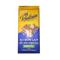 Poulin Chocolatier Francais Au Bon Lait Noisette 95GR