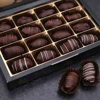 Nadiya Luxury Dark Belgian Chocolate Dates 240g