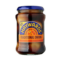 Haywards Medium & Tangy Traditional Onions 400GR