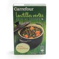 Carrefour Lentil Green 500 Gram