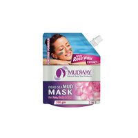 Mudway Mud Mask Three In One With Rose Water 200 Gram
