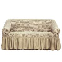 Tendance's Sofa Cover 2 Seater Beige
