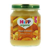 Hipp Organic Peach & Banana 125g